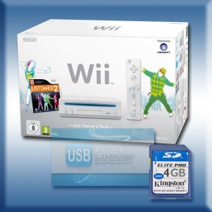 Wii blanche : Pack Just Dance 2 flashée avec USB Loader