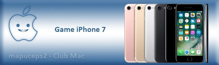 Gamme iPhone 7