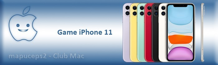 Gamme iPhone 11