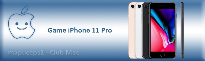 Gamme iPhone 11 Pro