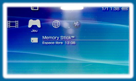 Dumper un UMD jeux ou film PSP sur carte mémoire Memore Stick Pro Duo