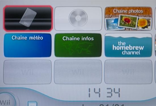 Chaîne USB Loader sur XMB Wii
